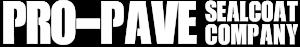 Pro-Pave Sealcoat Company