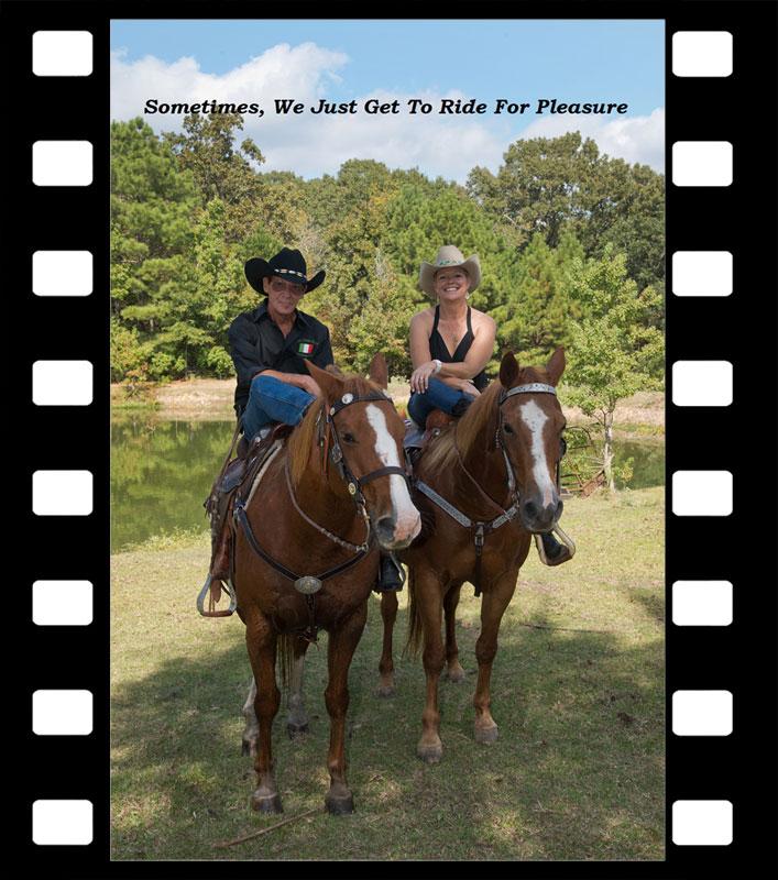 Jim & Kathleen Ride for Pleasure